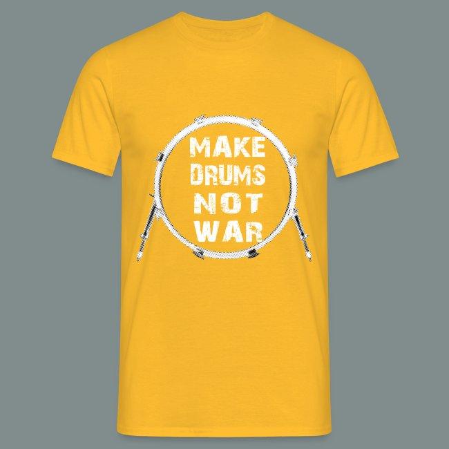 Make drums not war white