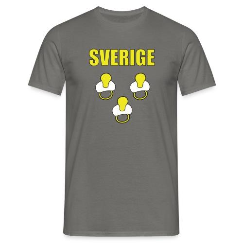 Sverige Tutti keltainen - Miesten t-paita