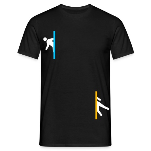 Portal Fun Design - Men's T-Shirt