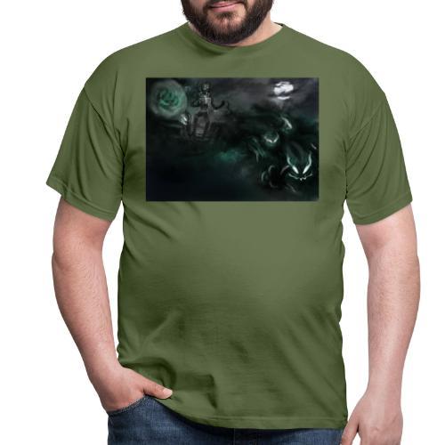 dark santa - T-shirt Homme
