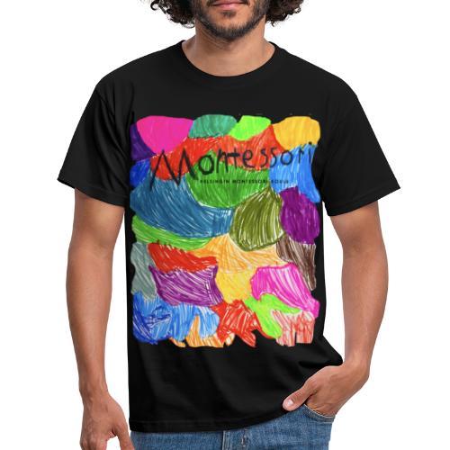 Coloured Montessori - Miesten t-paita