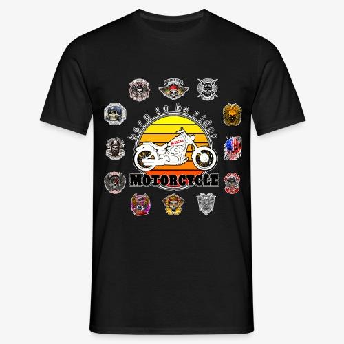 Born to be Rider - Motorcycle - Collection - Maglietta da uomo