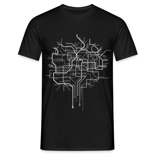 New Tube Black weibl. - Männer T-Shirt