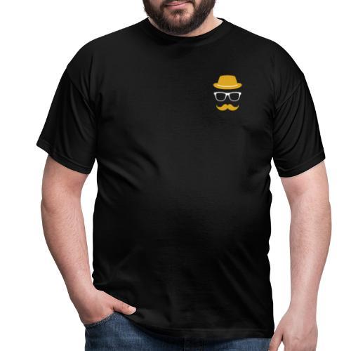 Mann Bart Logo - Männer T-Shirt