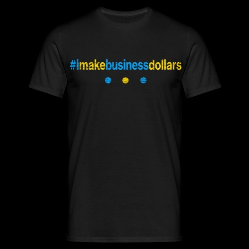 Imakebusinessdollars Used Look - Männer T-Shirt