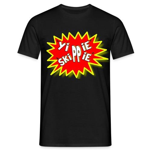 yippie skippe - Men's T-Shirt