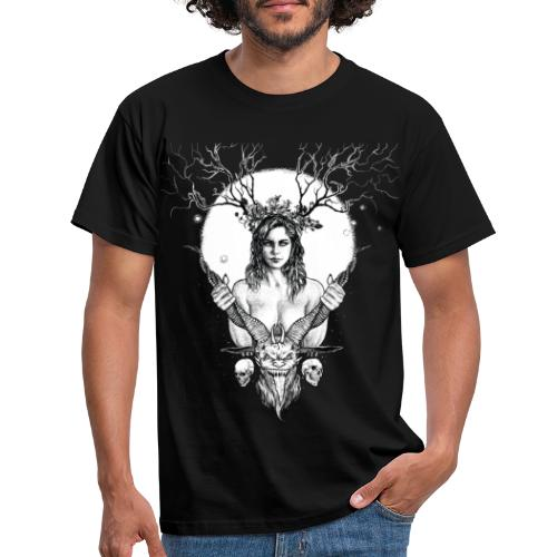 Lady Demon (black) - Men's T-Shirt