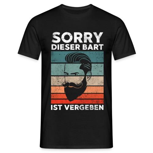 Sorry dieser Bart ist vergeben Geschenk - Männer T-Shirt