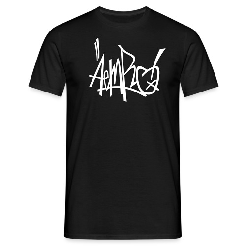 "Aemro ""Tag"" weiss - Männer T-Shirt"