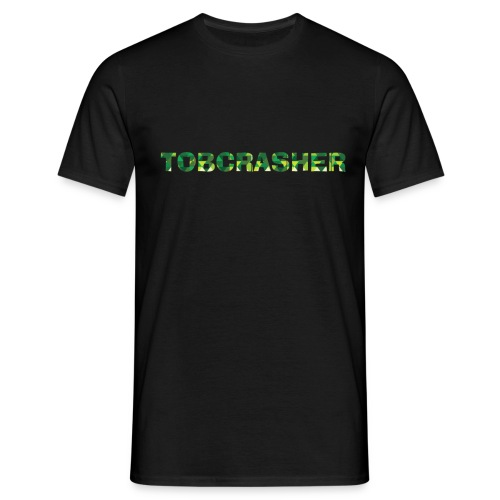 Tshirt Green triangles big - Männer T-Shirt