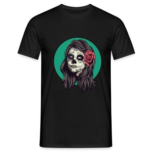 Tête de mort mexicaine - T-shirt Homme