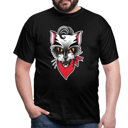 Rockabillycat - Maglietta da uomo