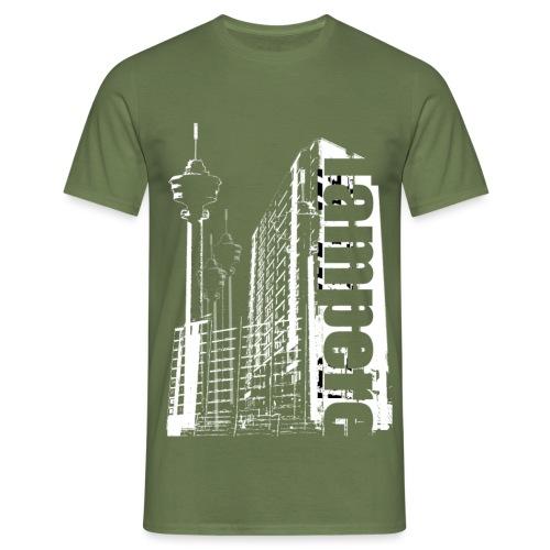 tamperebw png - Miesten t-paita