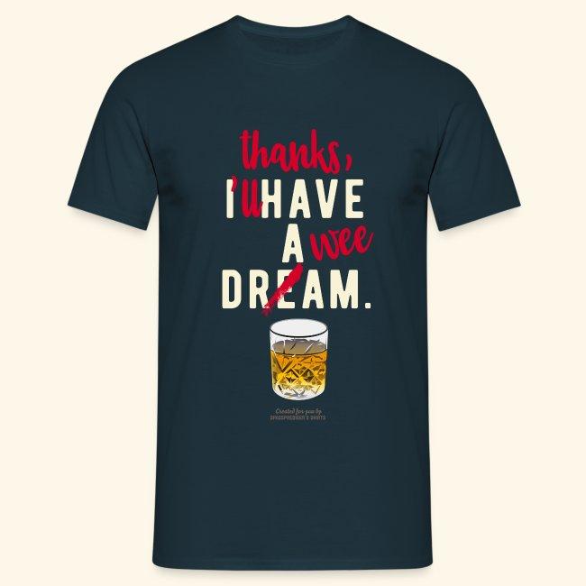 Scotch Whisky T Shirt A Wee Dram