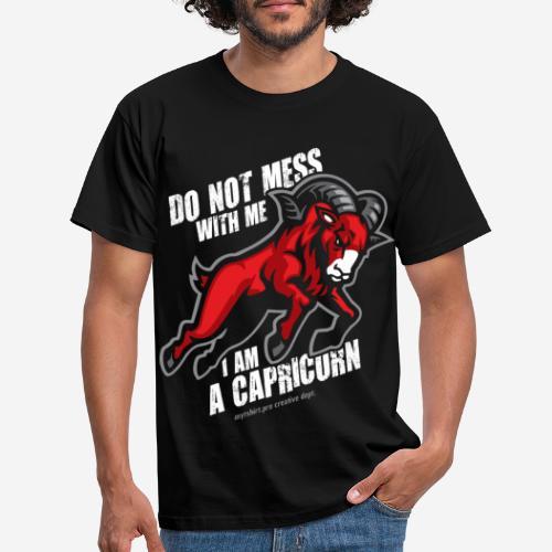 horoscope capricorn sign - Männer T-Shirt