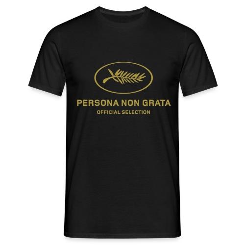 CANNES NON GRATA1 png - T-shirt Homme