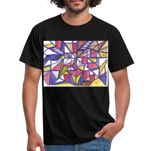 Flickenteppich - Männer T-Shirt