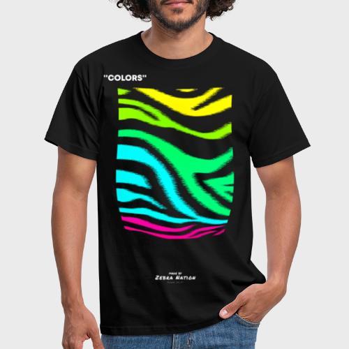 Zebra Nation (Colors) 2019 Collection - Men's T-Shirt