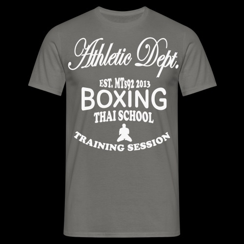 (high_school_couleur_uni) - T-shirt Homme