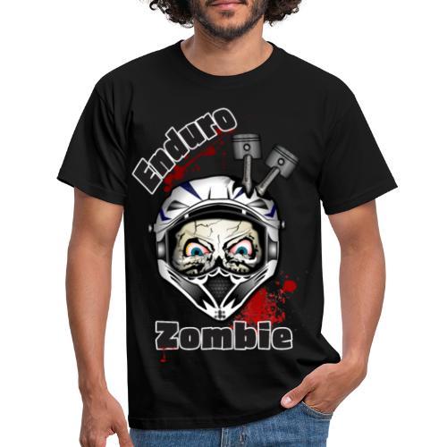 Enduro Zombie - Männer T-Shirt