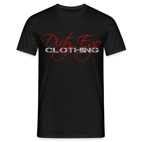 dirty ego clothing logo newred - Men's T-Shirt