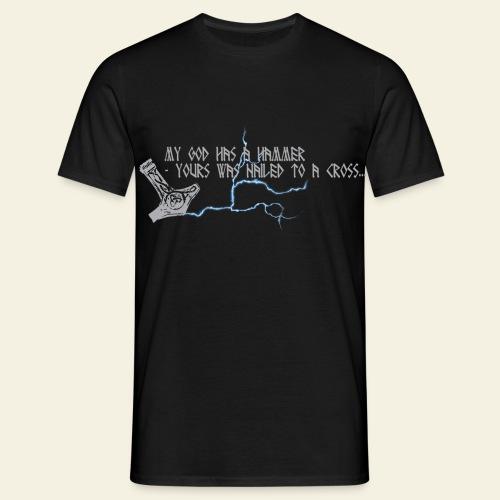 mjlner - Herre-T-shirt