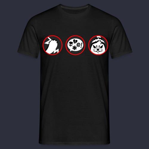 Kuutti | VAROITUS - Miesten t-paita