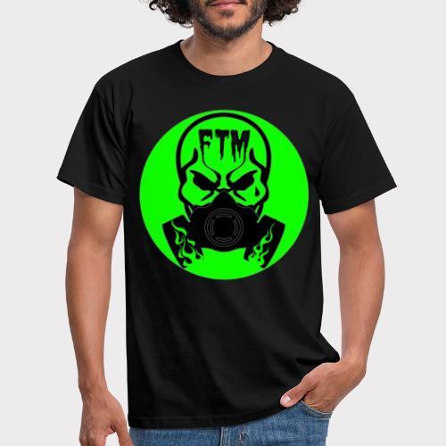 FTM CREW VERDE LOGO - Maglietta da uomo
