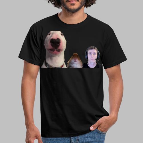 3 Amigos Walter, Hamster and Ltt. - Mannen T-shirt