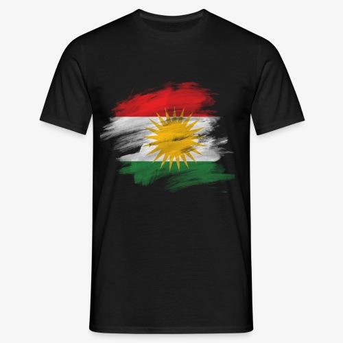Kurdische Flag. - Männer T-Shirt