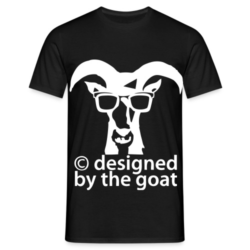 M50%_designed by the goat - Männer T-Shirt