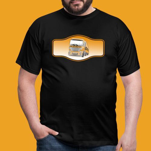 DerSimiGamer auf ein Schild - Männer T-Shirt