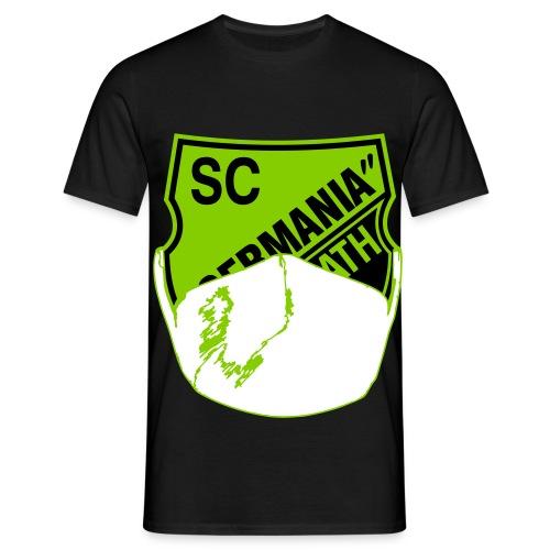 Reusrath Logo Corona - Männer T-Shirt