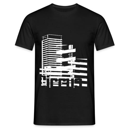 cirrusbw png - Miesten t-paita