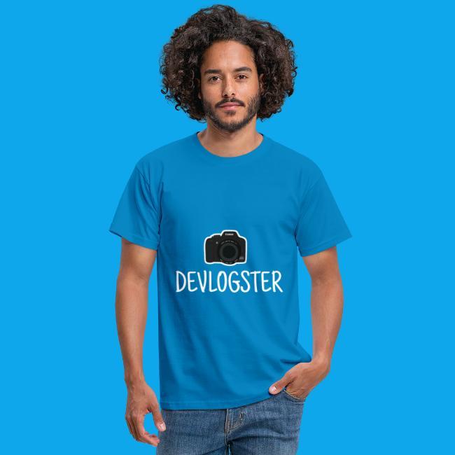 DeVlogster + camera logo