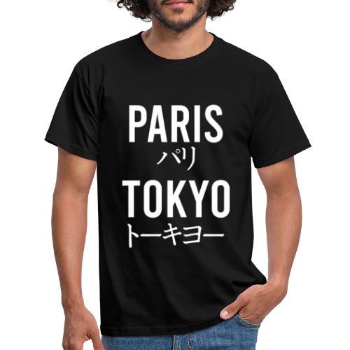 paris tokyo - T-shirt Homme