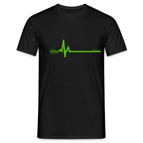 Querbeet EKG - Männer T-Shirt