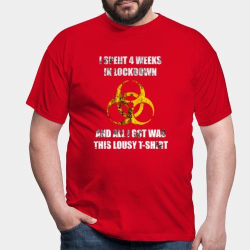 Lockdown - Men's T-Shirt