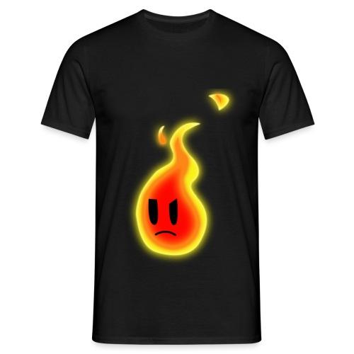Robert Die Flamme - Männer T-Shirt