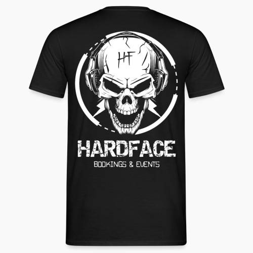 HardFace - Bookings & Events - Men's T-Shirt