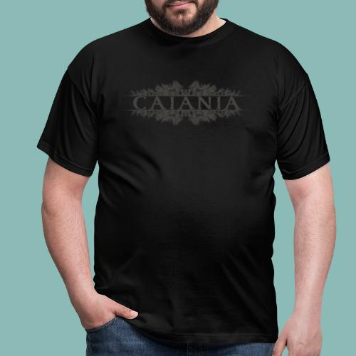 Caiania-logo harmaa - Miesten t-paita