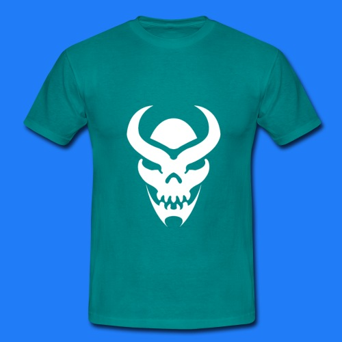TRIBAL SKULL BLANC - T-shirt Homme