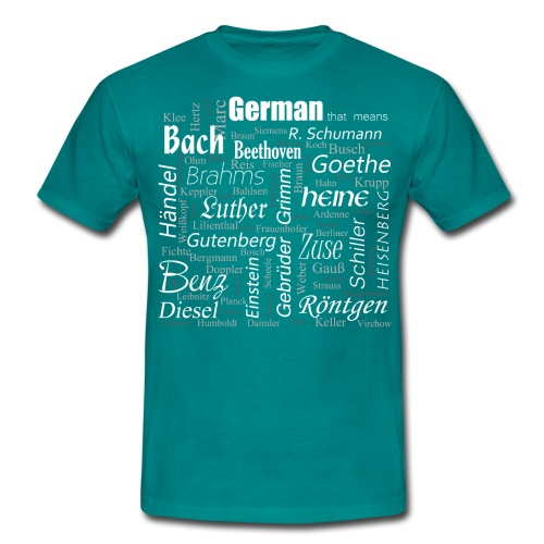 German that means - Männer T-Shirt