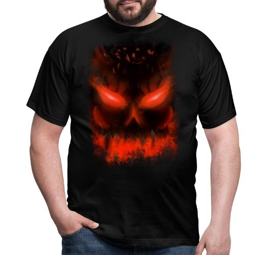 demon skull - T-shirt Homme