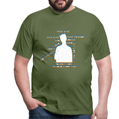 Sick life (white) - T-shirt Homme