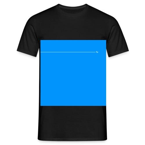 sklyline blue version - T-shirt Homme