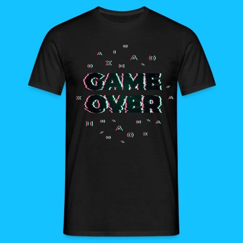 GAME OVER - Koszulka męska