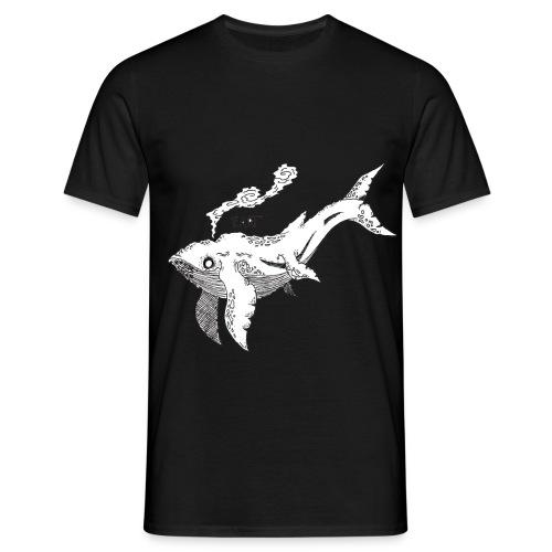 Flyinng Whale - Men's T-Shirt