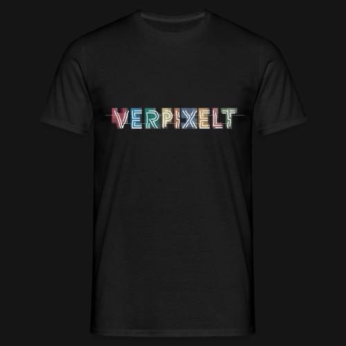 verpixelt logo light rgb transparent - Männer T-Shirt