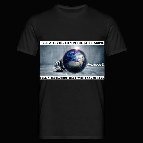 I See A Revolution!! Truth T-Shirts!! #Rebellion - Men's T-Shirt